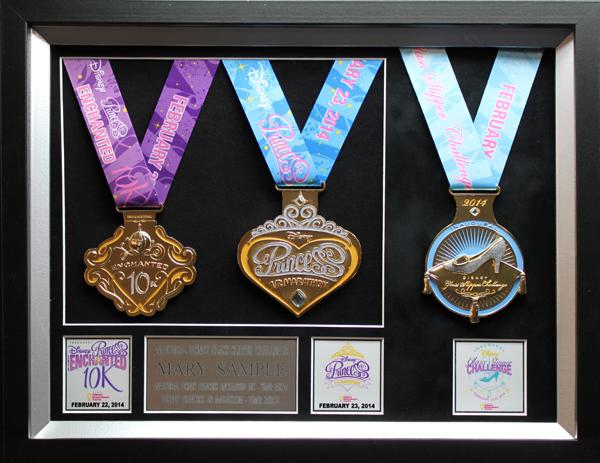 2014 Disney S Princess Half Marathon Plaques Amp Frames