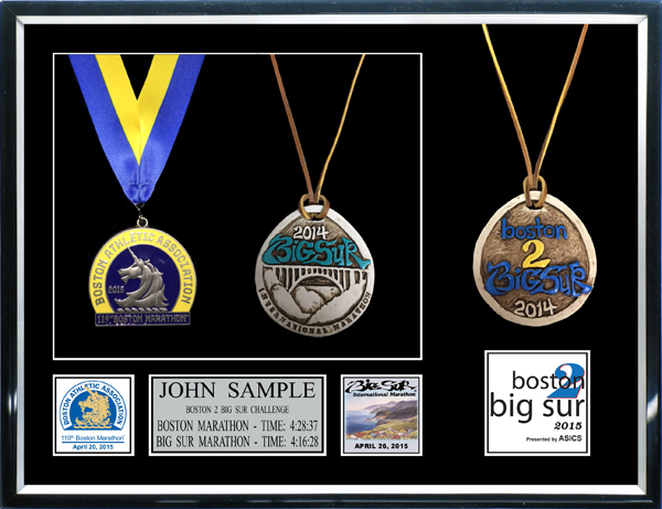2013 Big Sur International Marathon Plaques Amp Frames