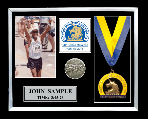 2016 Boston Marathon Plaques Amp Frames Fond Memories Graphics