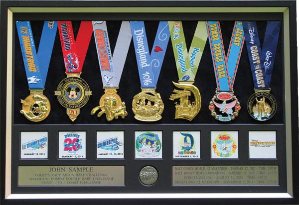 2008 Disneyland Half Marathon Plaques Amp Frames Fond