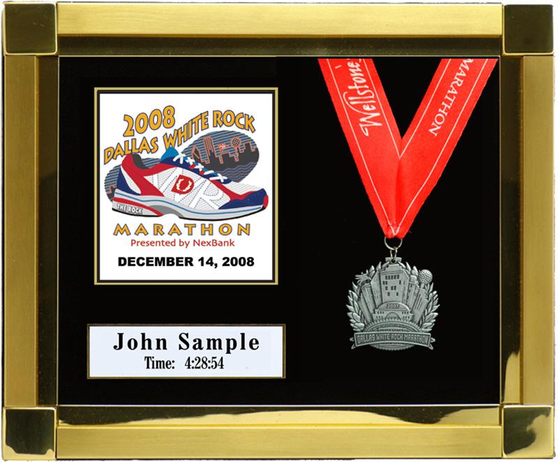 2010 Dallas Metropcs Marathon Plaques Amp Frames Fond