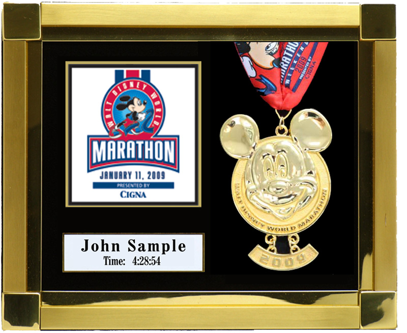 2011 Walt Disney World Marathon Amp Half Marathon Plaques
