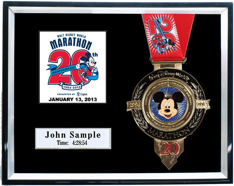 2013 Walt Disney World Marathon Amp Half Marathon Plaques