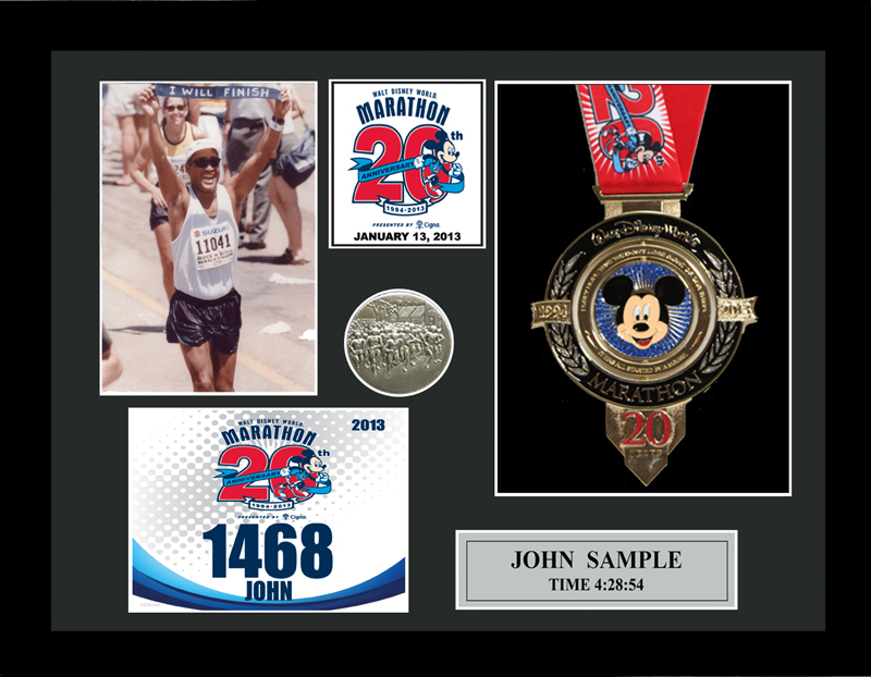 2013 Walt Disney World Marathon & Half Marathon Plaques & Frames ...