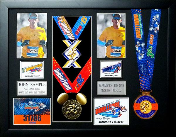 2017 Walt Disney World Marathon & Half Marathon Plaques & Frames ...
