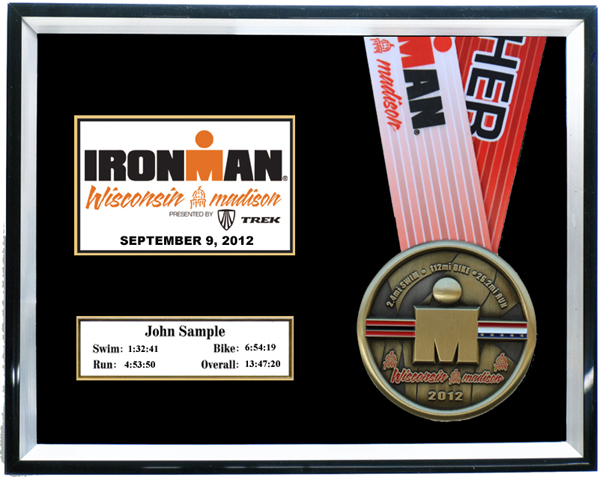 2015 Ironman Wisconsin Plaques Amp Frames Fond Memories