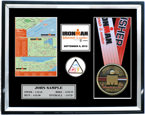 2015 Ironman Wisconsin Plaques Amp Frames Fond Memories