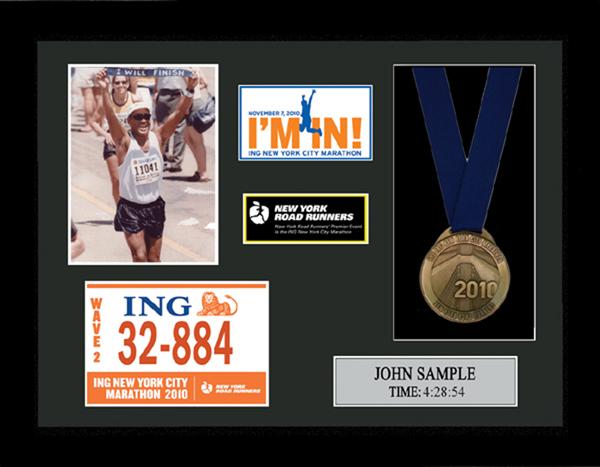 2011 ING New York City Marathon Plaques & Frames | Fond Memories ...