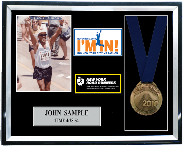 2010 Ing New York City Marathon Plaques Amp Frames Fond