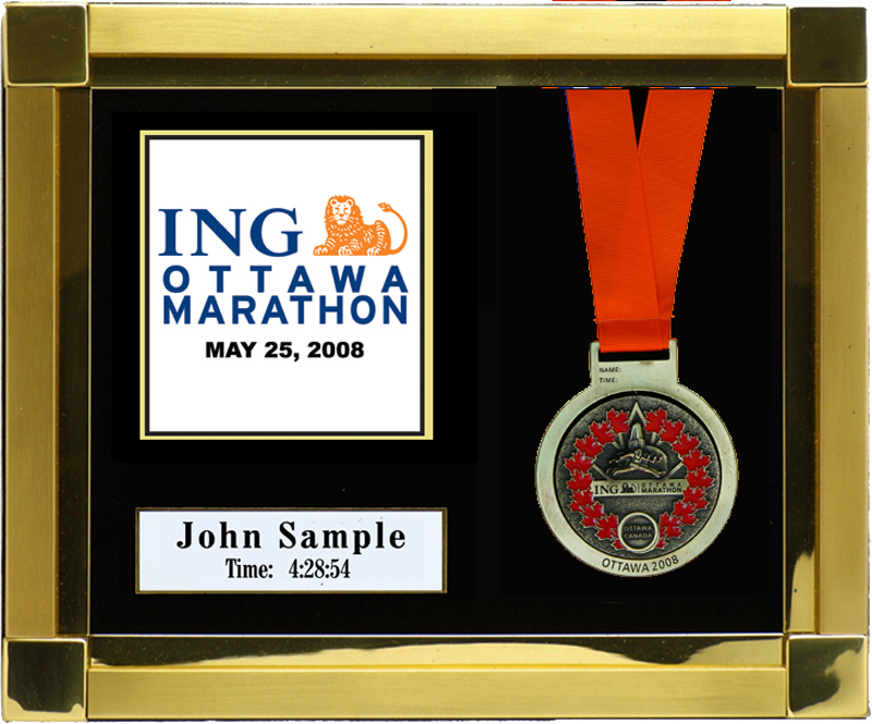 2008 Ing Ottawa Marathon Plaques Amp Frames Fond Memories