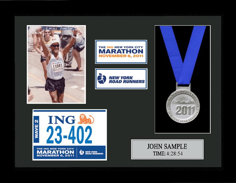 2012 Ing New York City Marathon Plaques Amp Frames Fond