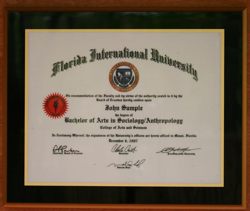 Diploma Plaques New York Ny Fond Memories Graphics Inc