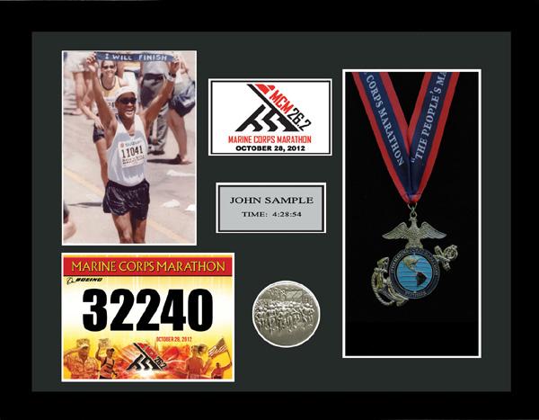 2014 Marine Corps Marathon Plaques & Frames | Fond ...