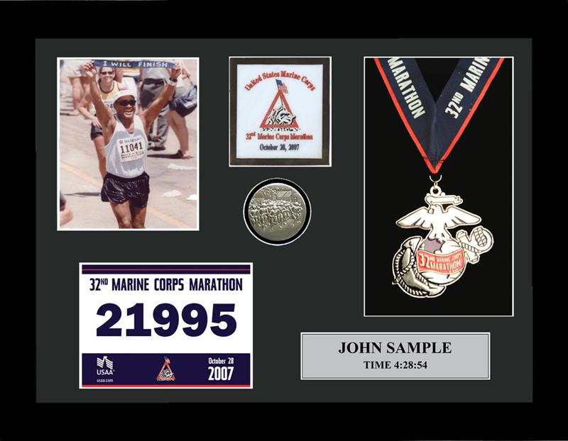2009 Marine Corps Marathon Plaques & Frames   Fond ...