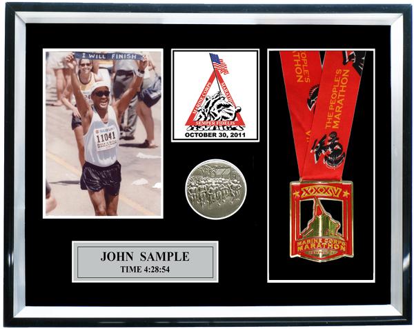 2011 Marine Corps Marathon Plaques Amp Frames Fond