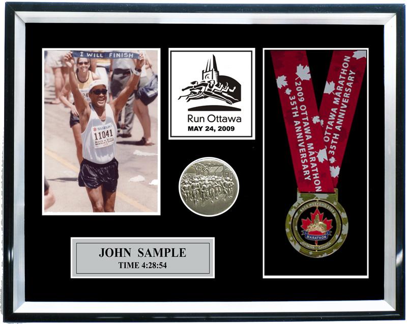 2009 Ottawa Marathon Amp Half Marathon Plaques Amp Frames