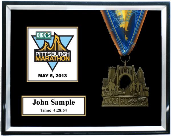 2013 Pittsburgh Marathon Amp 1 2 Marathon Plaques Amp Frames Fond Memories Graphics