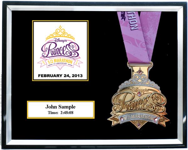 2013 Disney S Princess Half Marathon Plaques Amp Frames