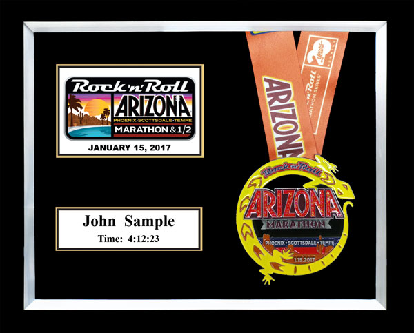 2017 Arizona Rock N Roll Marathon Amp 1 2 Marathon Plaques