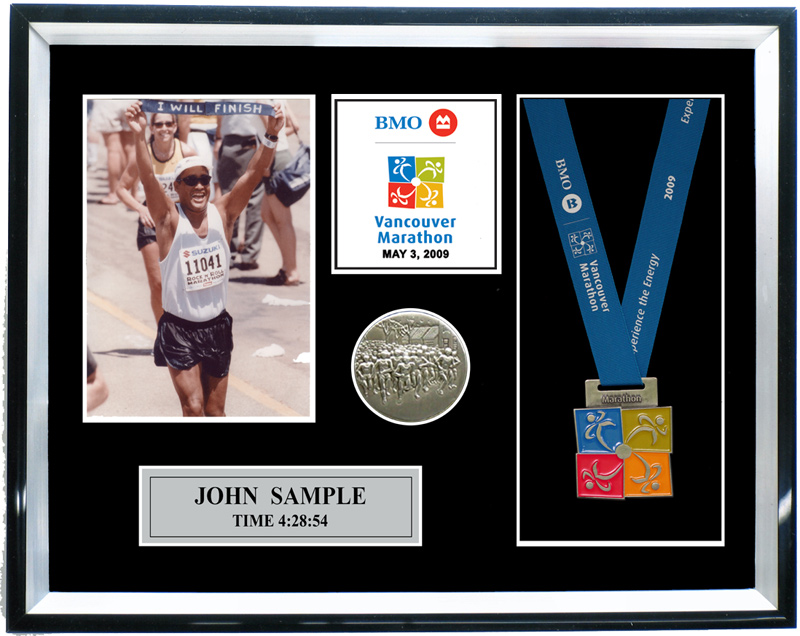 2012 Vancouver Marathon Amp Half Marathon Plaques Amp Frames