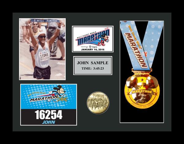 2016 Walt Disney World Marathon & Half Marathon Plaques & Frames ...
