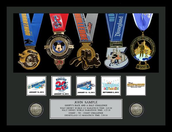 2014 Walt Disney World Marathon Amp Half Marathon Plaques